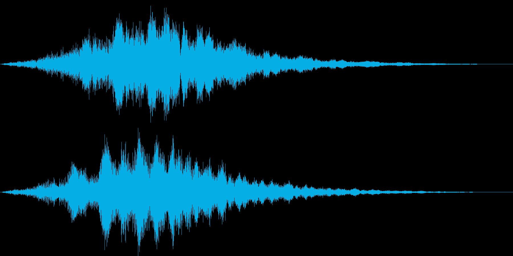 カッコイイサウンドロゴ ゲーム SNS系の再生済みの波形