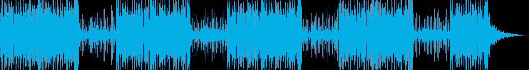神楽鈴なしの再生済みの波形