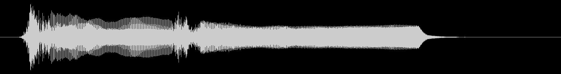 法螺貝01-5の未再生の波形