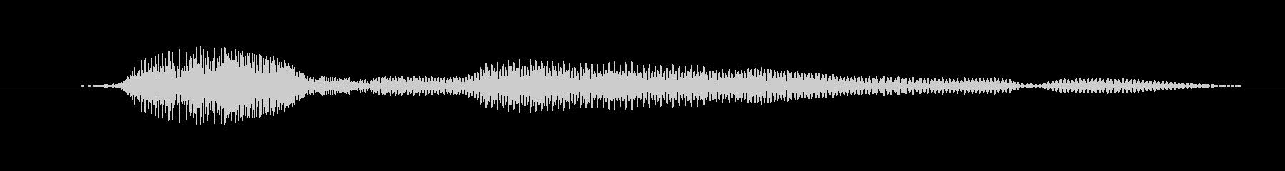鳴き声 女性トークエルフィッシュ09の未再生の波形