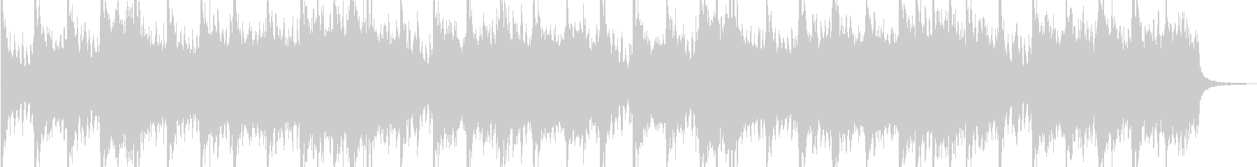緊迫感 エピック系オーケストラの未再生の波形