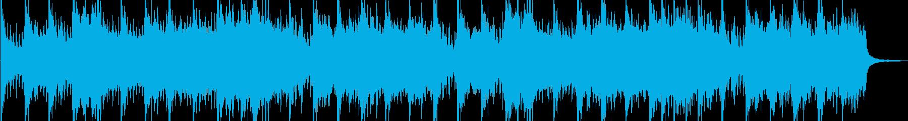 緊迫感 エピック系オーケストラの再生済みの波形