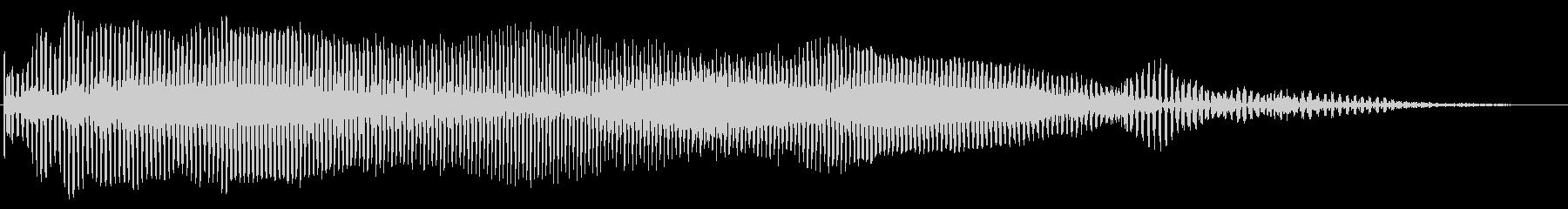 ファーオ スライドトランペット音程上下の未再生の波形