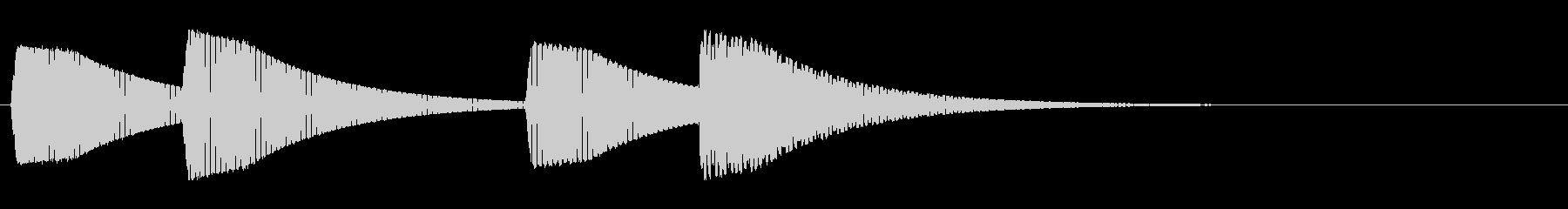 KANTアイキャッチ39効果音8bitの未再生の波形