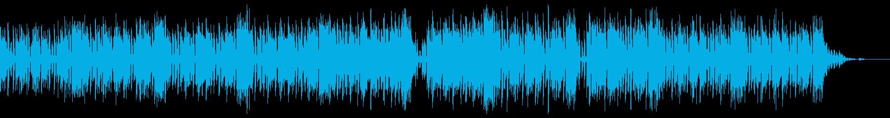 萌えなkawaiifuturebassの再生済みの波形