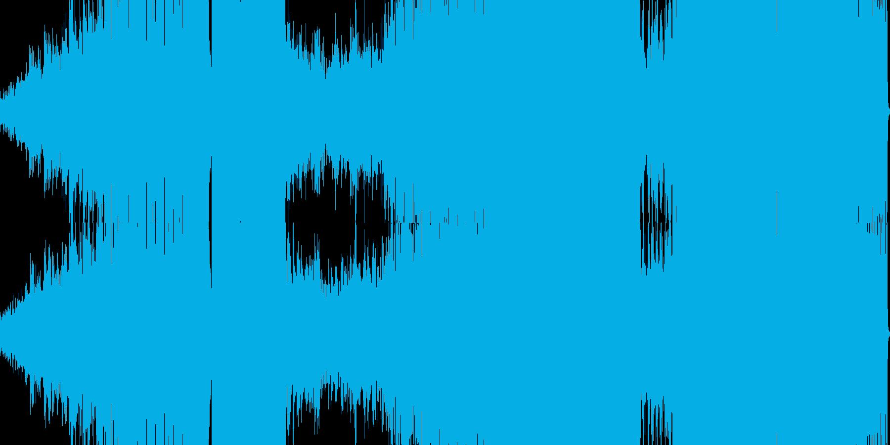 メロディアスなハウスサウンドの再生済みの波形