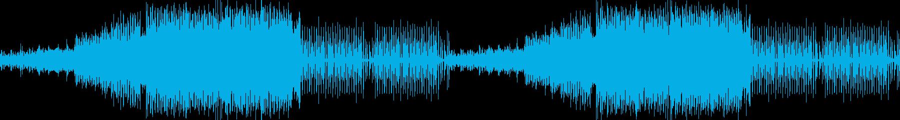 激しいトレーニングエキサイティングEDMの再生済みの波形