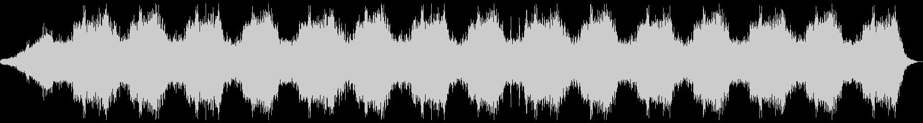 ホラー向け幻想的なBGMの未再生の波形