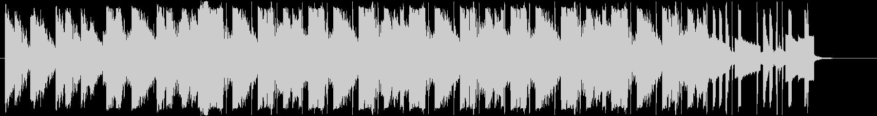 ピアノ/ギター/疾走感/企業VPの未再生の波形