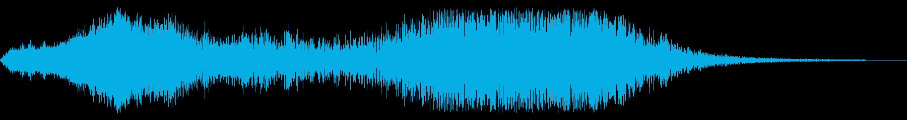 F1などのレース、エンジン効果音38!の再生済みの波形