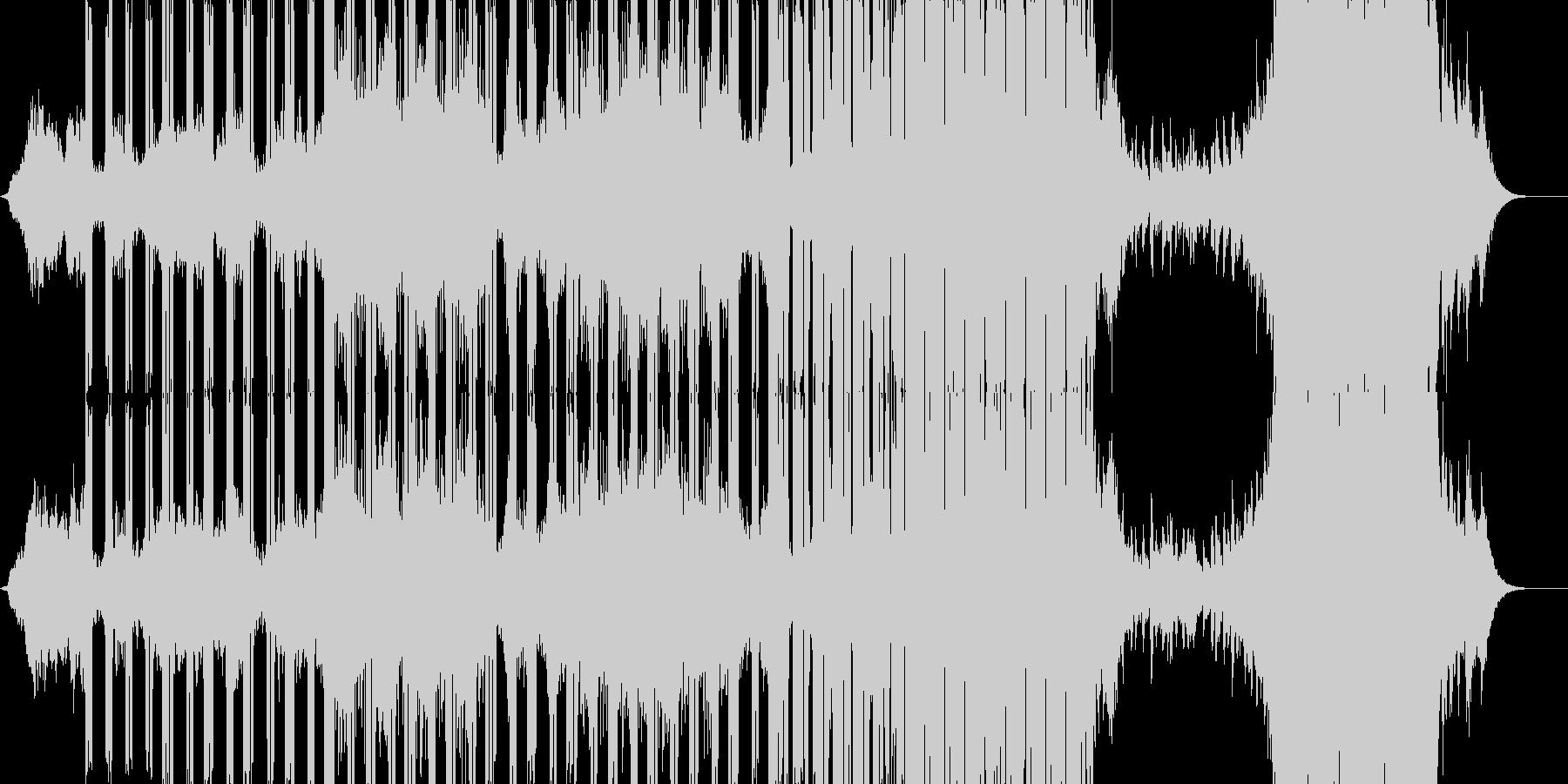 神秘的な雰囲気・壮大な展開のアニメBGMの未再生の波形