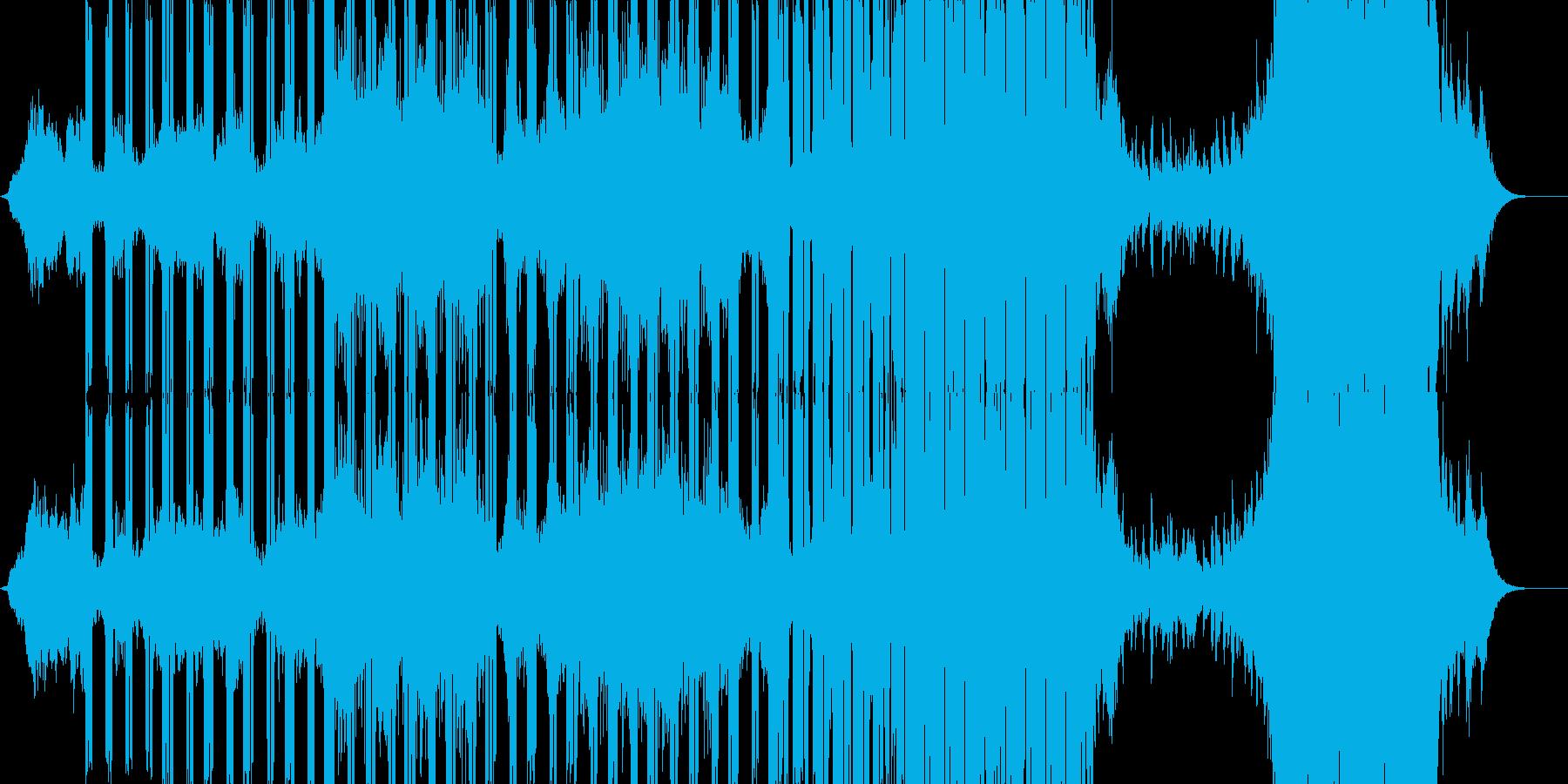 神秘的な雰囲気・壮大な展開のアニメBGMの再生済みの波形