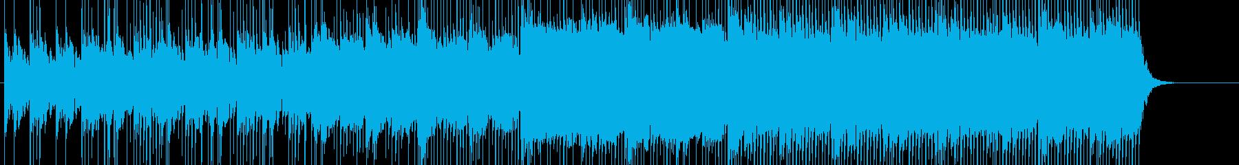 デザイン エレクトロ 近未来 ポップの再生済みの波形