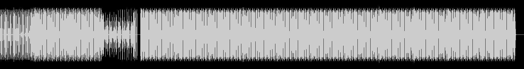 ドラムのループ音源の未再生の波形