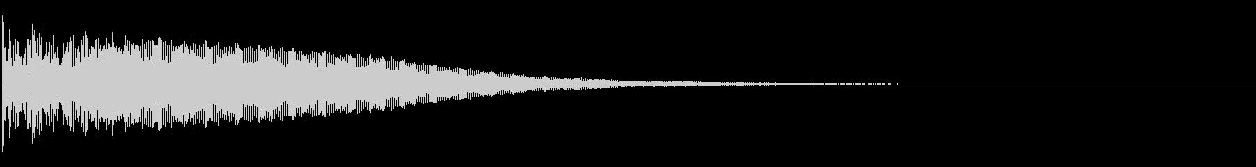和太鼓「どどん」大きめ太鼓 太い音-02の未再生の波形