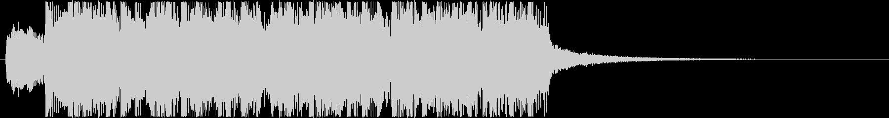 生演奏メタルなアイキャッチ10の未再生の波形