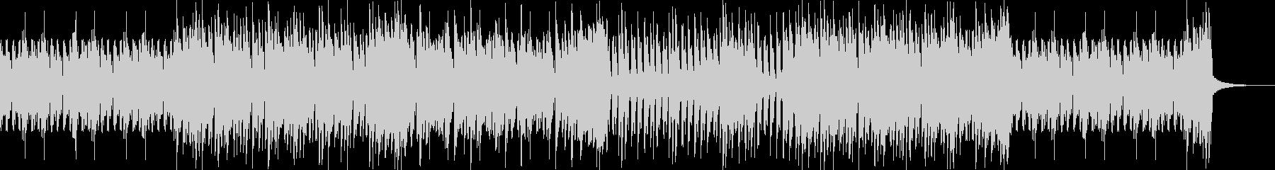 忍者チェイス疾走感のある三味線エレクトロの未再生の波形