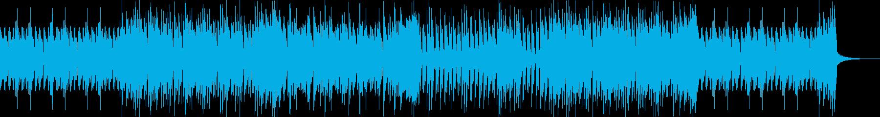 忍者チェイス疾走感のある三味線エレクトロの再生済みの波形