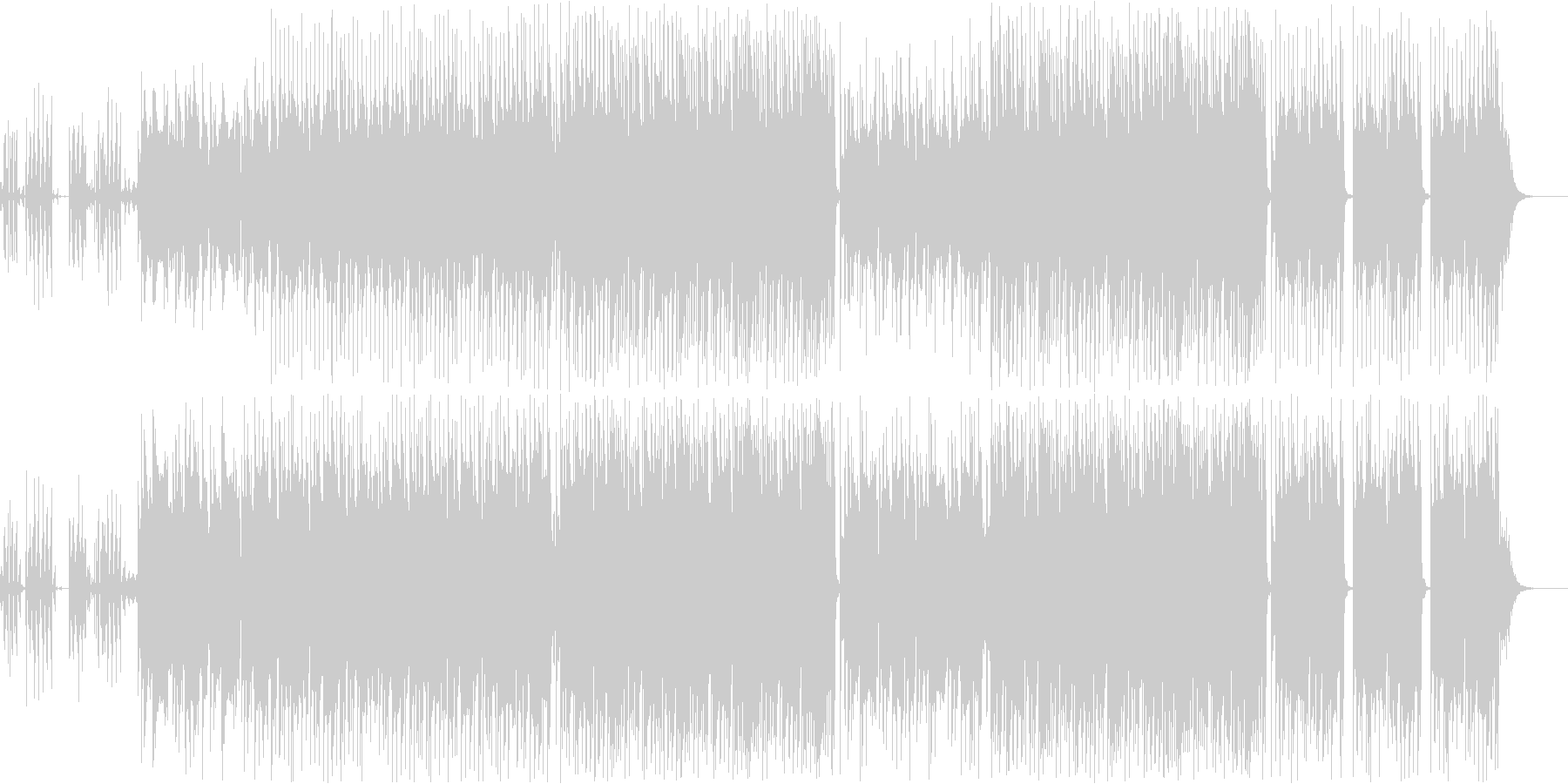 動画 サスペンス 技術的な 感情的...の未再生の波形
