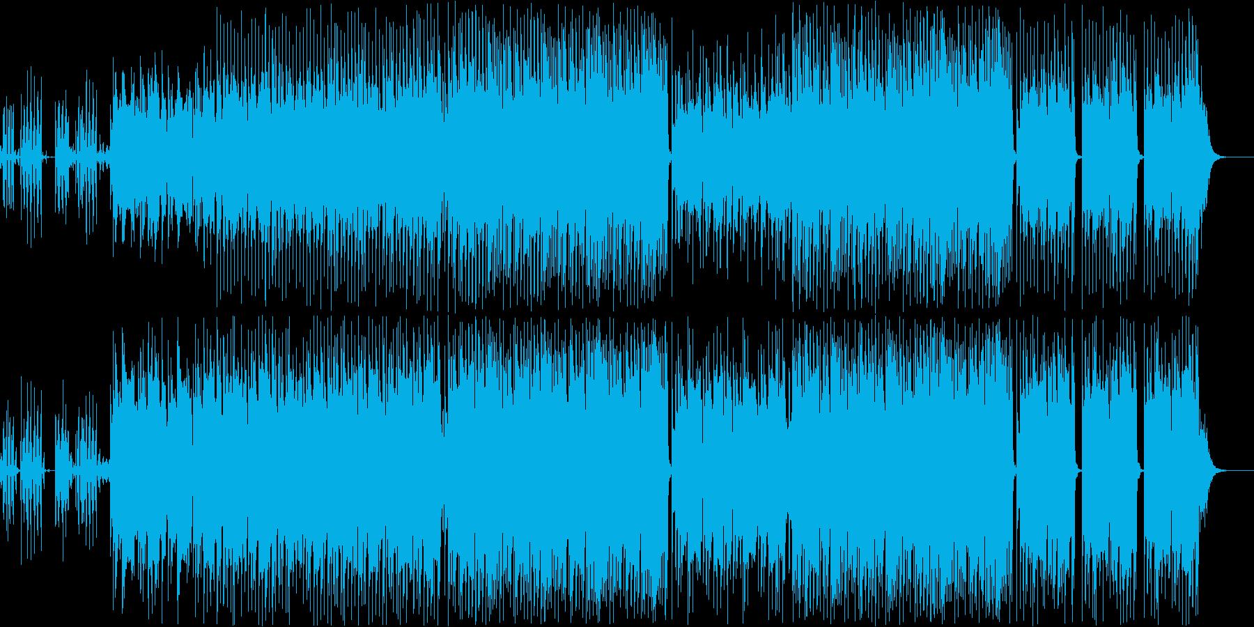 動画 サスペンス 技術的な 感情的...の再生済みの波形