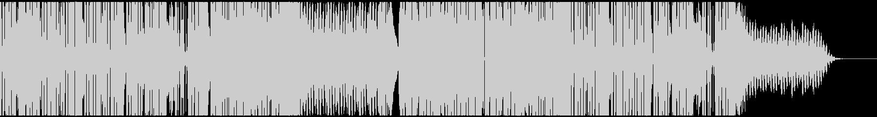 スタイリッシュでファンクなエレクトロの未再生の波形