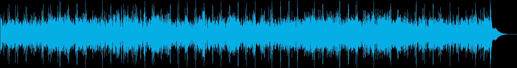 アイリッシュやケルト楽器中心の民族音楽の再生済みの波形