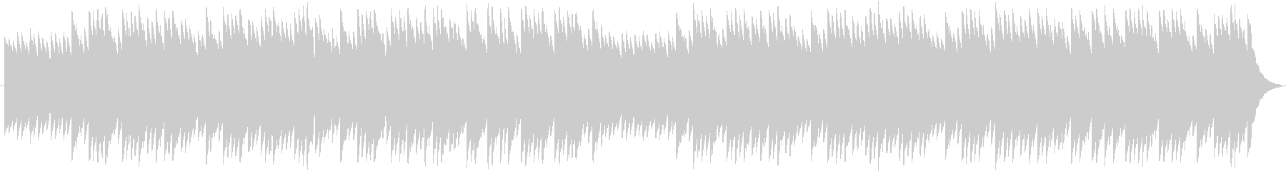 8bit風メルヘンBGMの未再生の波形