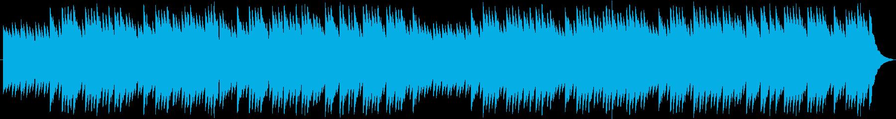 8bit風メルヘンBGMの再生済みの波形