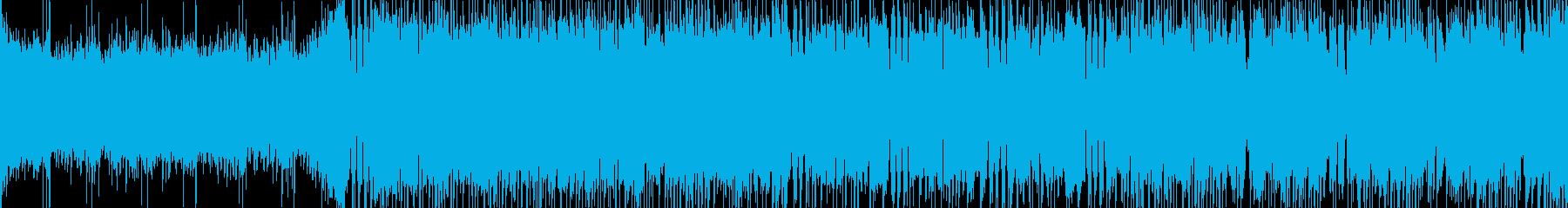 三味線とギターの和風メタル。【ループ可】の再生済みの波形