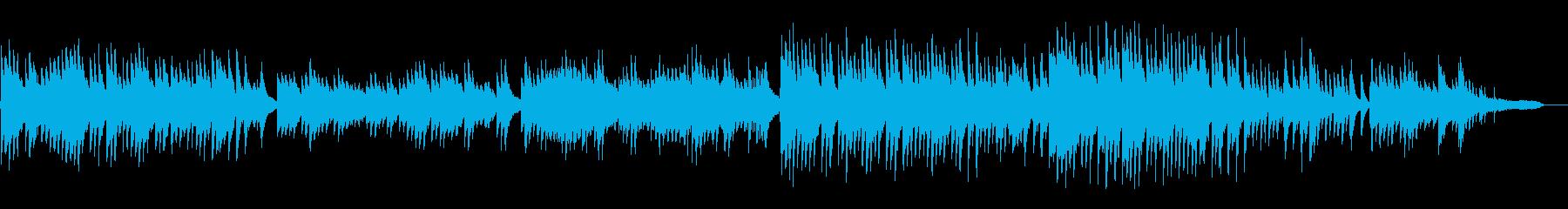 和風で日本的なピアノソロの再生済みの波形