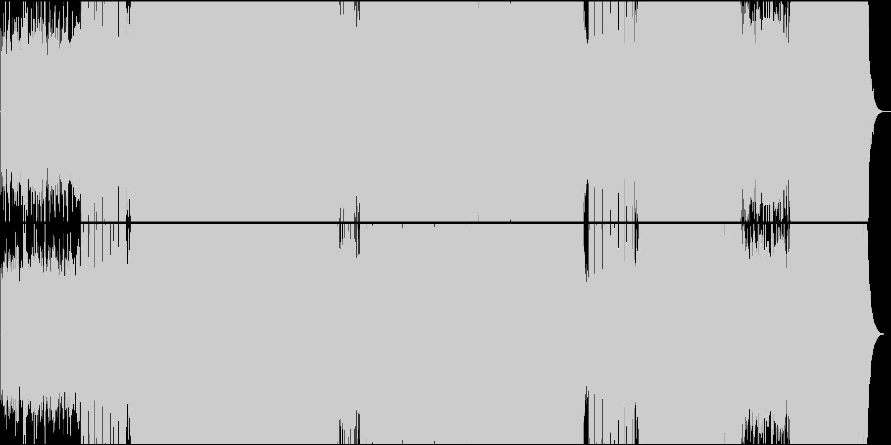 「悲愴/ベートーヴェン」トランス系アレンの未再生の波形