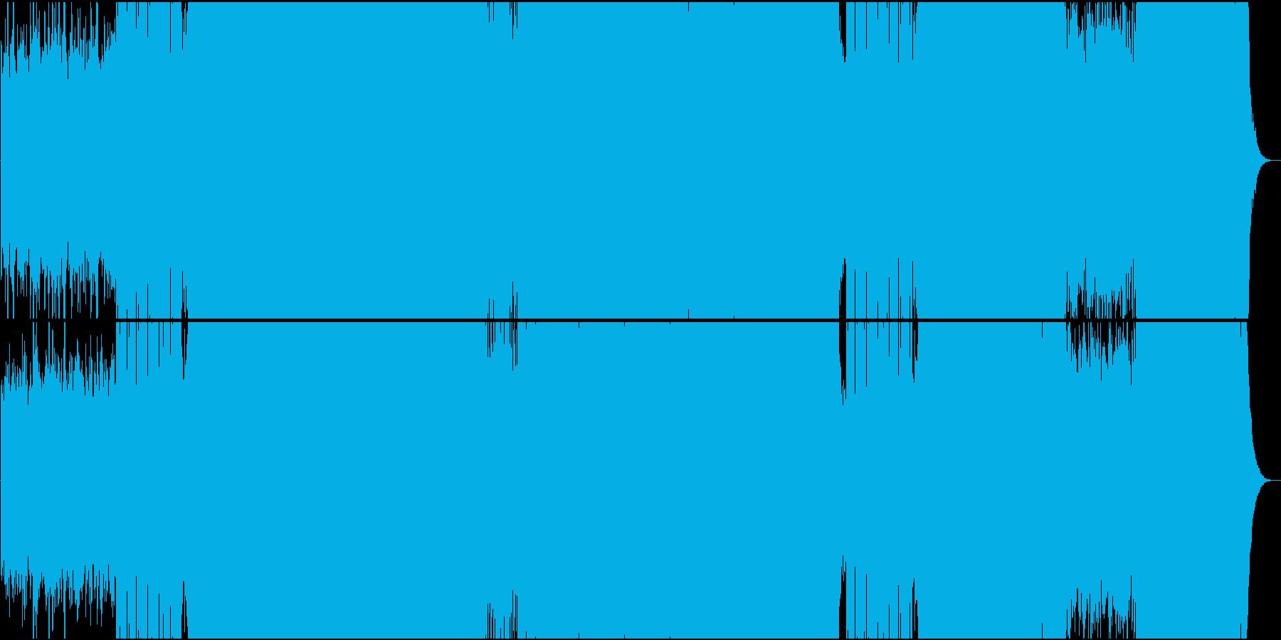 「悲愴/ベートーヴェン」トランス系アレンの再生済みの波形