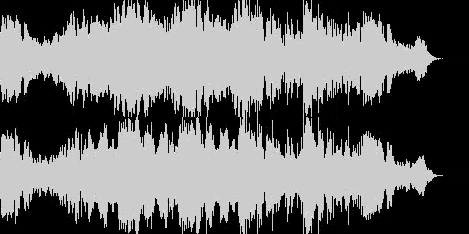 ホラーやサスペンスに合う暗いアンビエントの未再生の波形