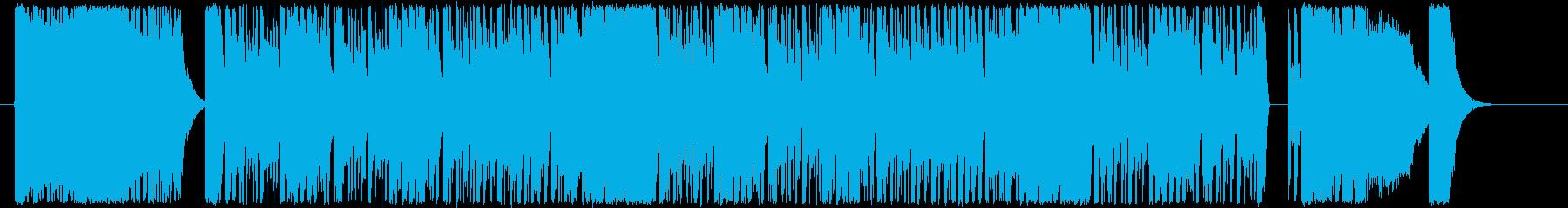 和風・三味線・テクノ。ループ可の再生済みの波形