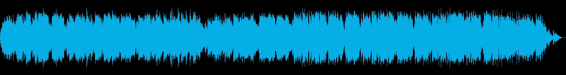 少し淋しくジャズっぽい雰囲気のケーナの再生済みの波形