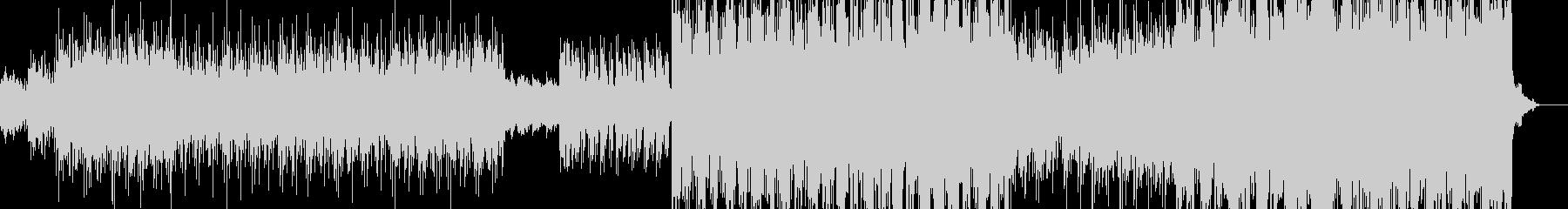 エスニック風エレクトロポップの未再生の波形
