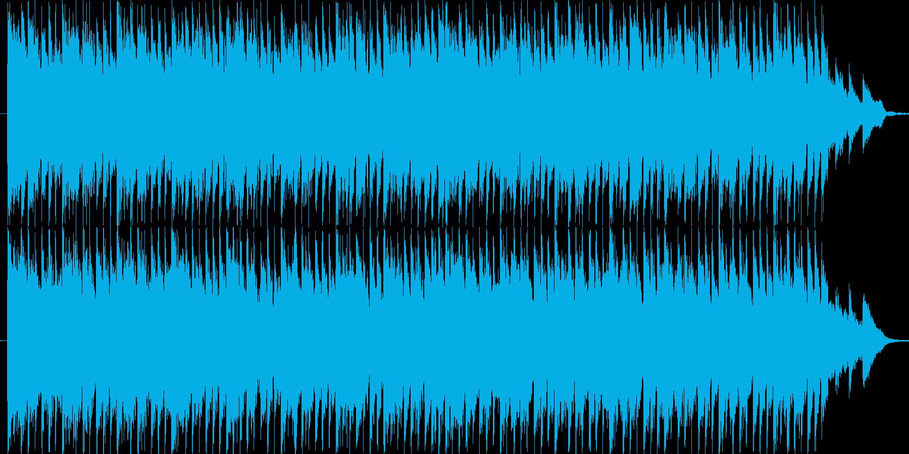 リズミックなポップBGM(30ver)の再生済みの波形