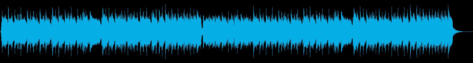 寂しげなアイリッシュトラッドの再生済みの波形