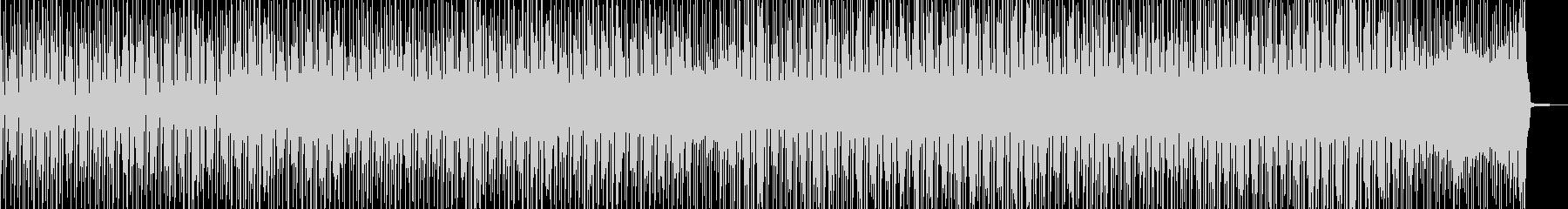 徐々に賑わう動画に・2部構成ポップス Bの未再生の波形