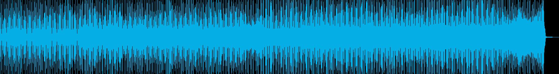 徐々に賑わう動画に・2部構成ポップス Bの再生済みの波形