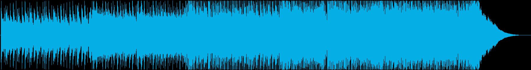 Refreshing J-POP sound ♪'s reproduced waveform