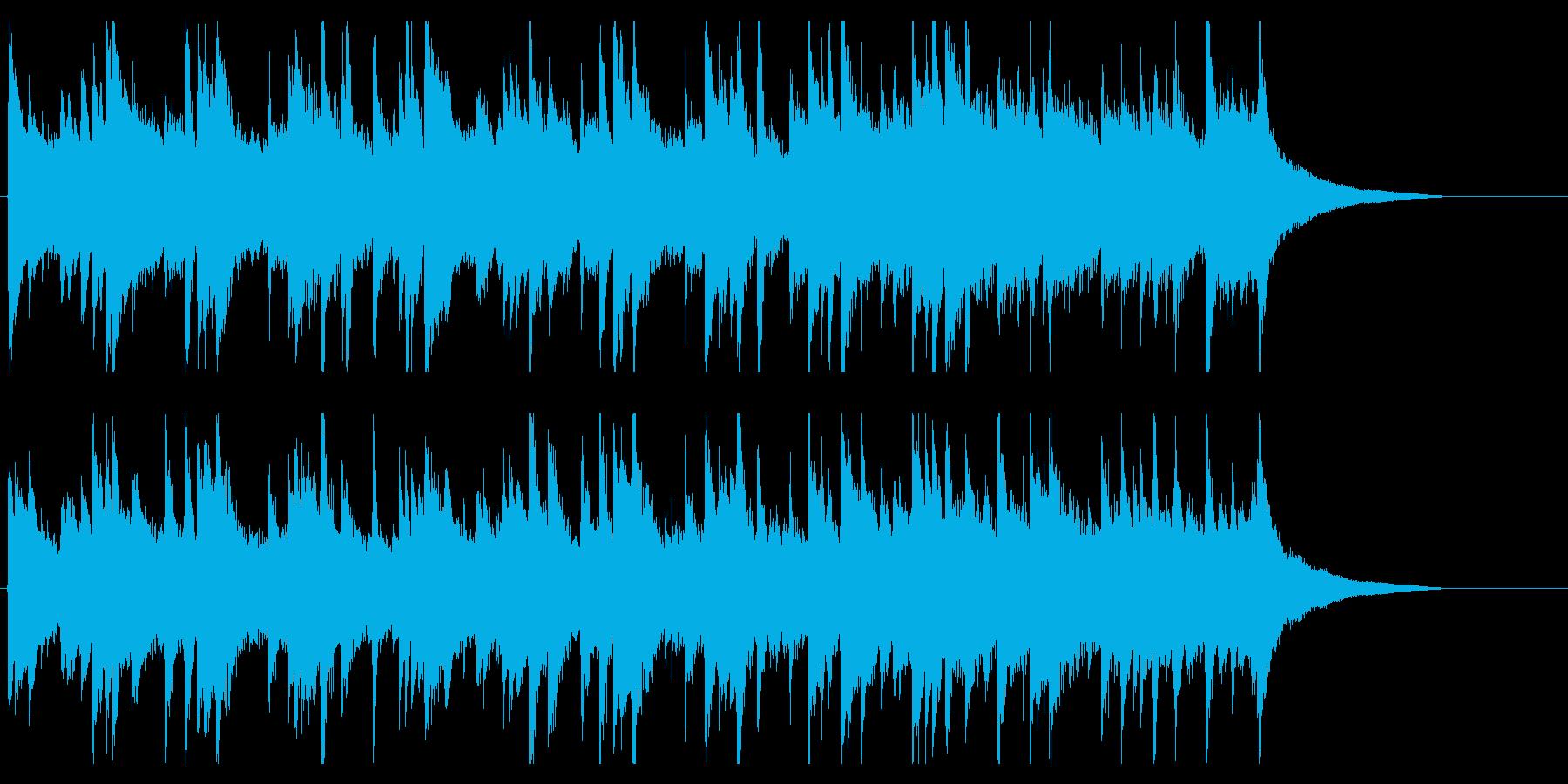 ギターしっとりジングル 感動ピアノで癒しの再生済みの波形