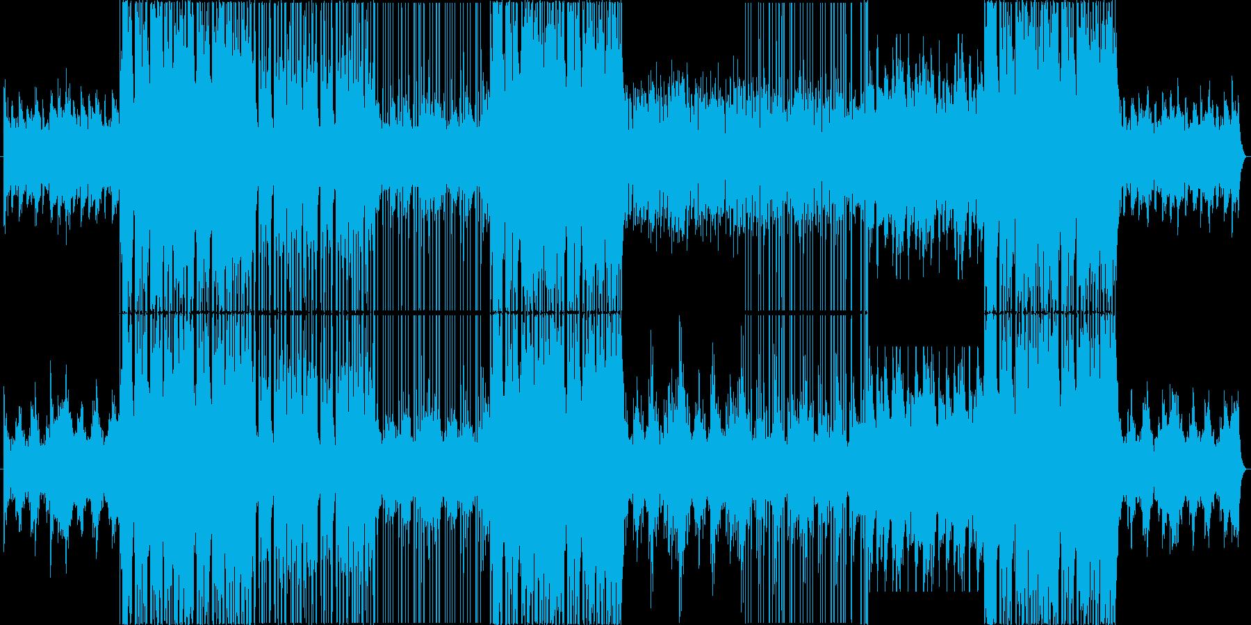 モダンな洋楽風 Trap Popの再生済みの波形