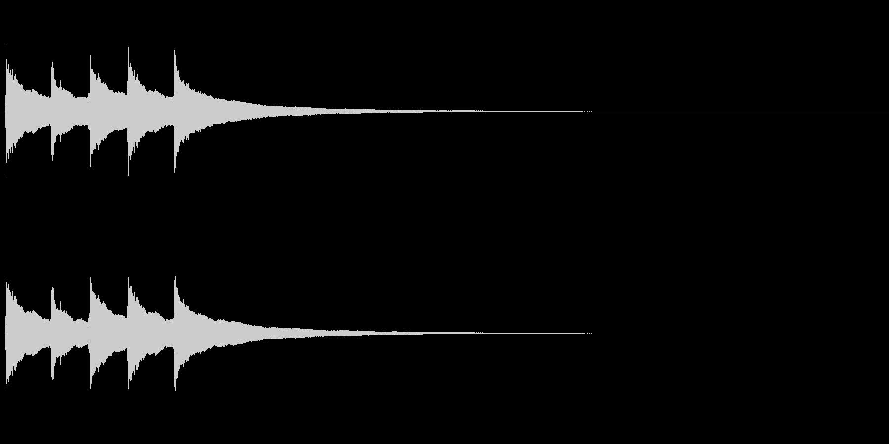 【コールベル タップ式01-3】の未再生の波形