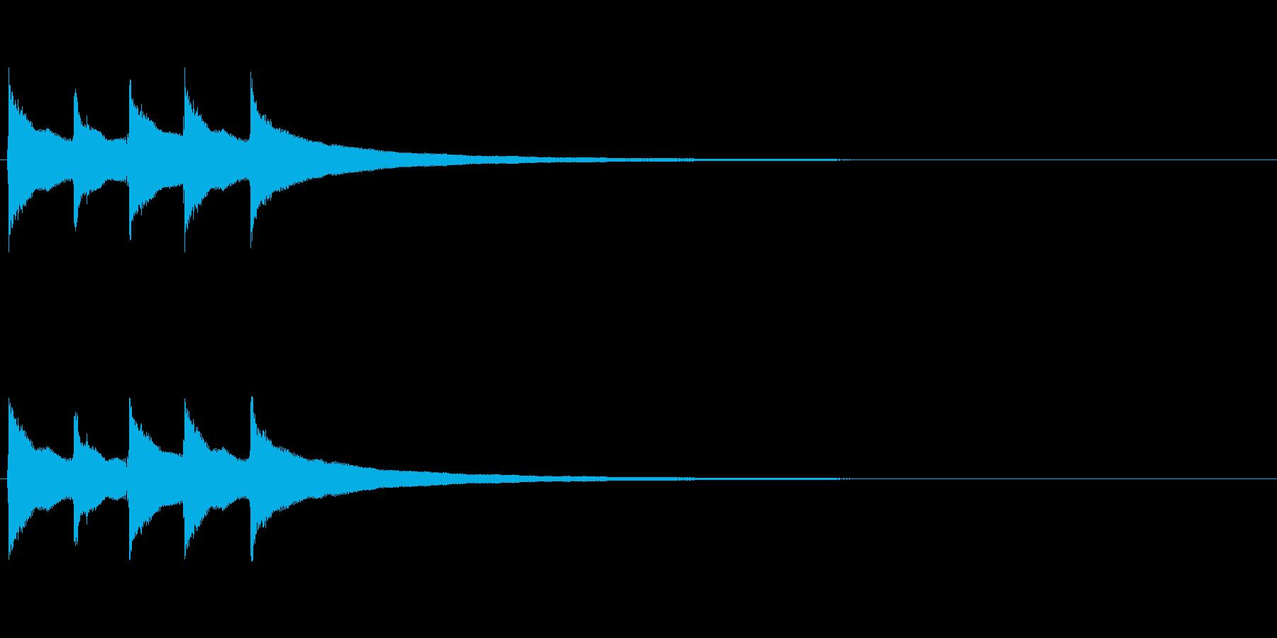 【コールベル タップ式01-3】の再生済みの波形