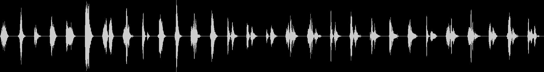 デジタル音声;男性2;コンピュータ...の未再生の波形