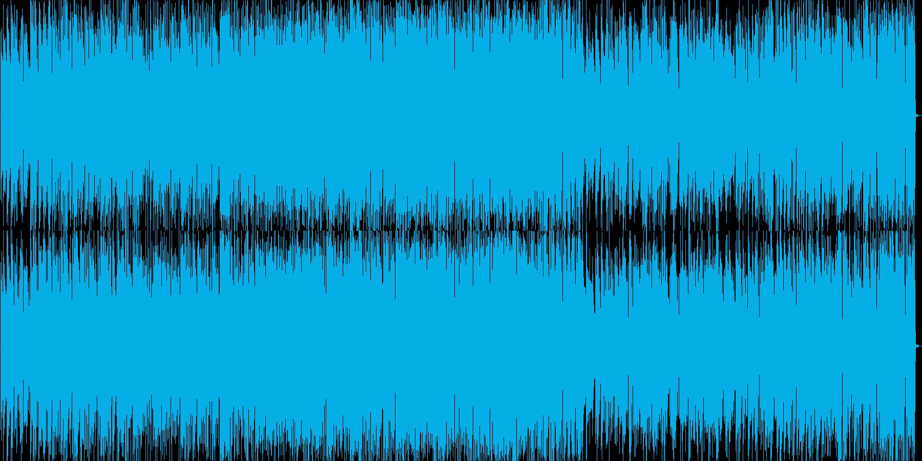 ノリのいいジャズピアノトリオの再生済みの波形