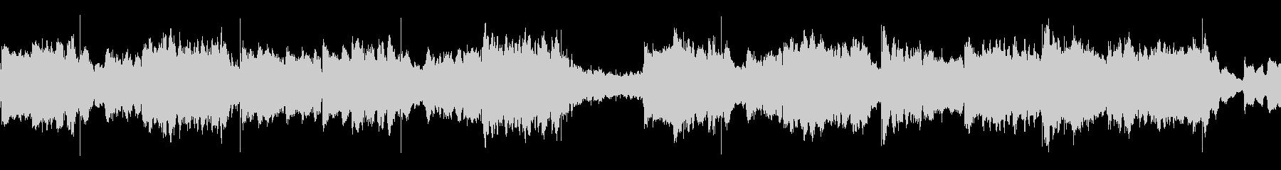 琴と尺八の、シンプルなお正月のBGMの未再生の波形