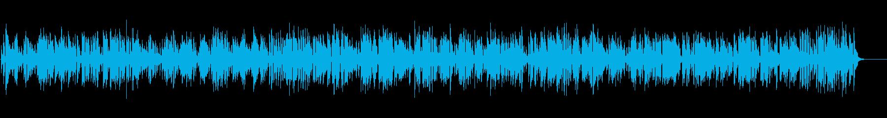 レトロでほのぼのとしたクラリネットジャズの再生済みの波形