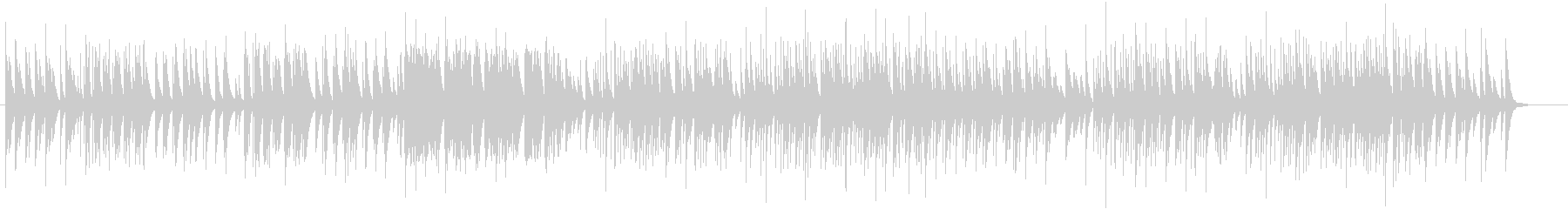 ホスピタリティなやさしいオルゴール74の未再生の波形